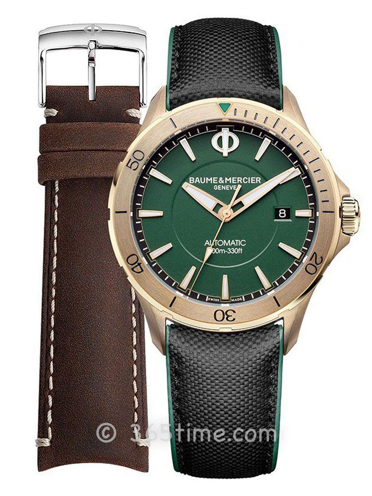 名士克里顿俱乐部系列男士自动上链青铜腕表M0A10503