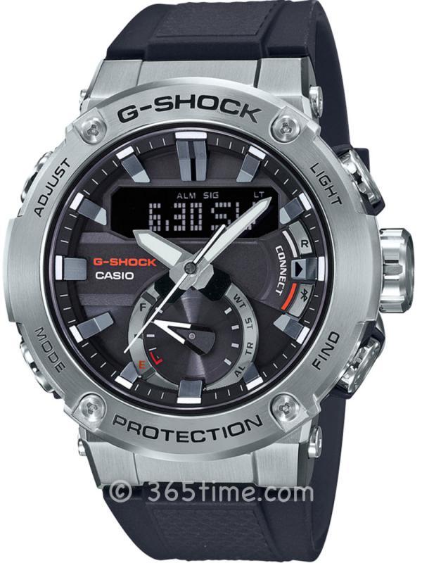 Casio卡西欧G-SHOCK系列G-STEEL太阳能腕表GST-B200-1APR
