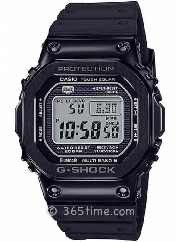 CASIO卡西欧G-SHOCK系列太阳能六局电波腕表GMW-B5000G-1PR