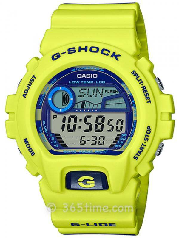 Casio卡西欧G-SHOCK系列G-LIDE腕表GLX-6900SS-9