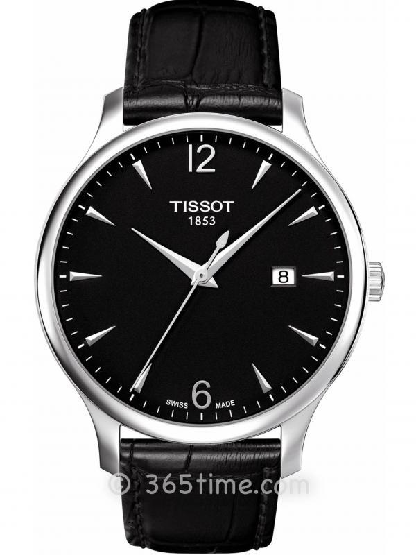 Tissot天梭T-Classic系列男士石英腕表T063.610.16.057.00
