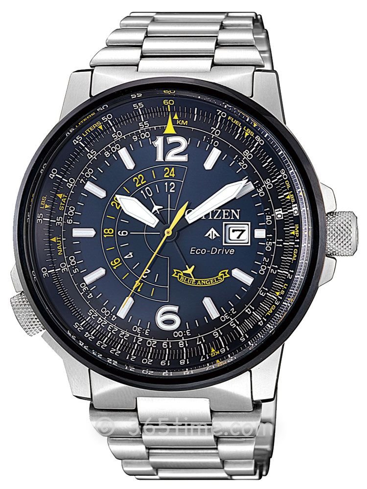 西铁城PROMASTER系列光动能GMT男士腕表BJ7006-64L
