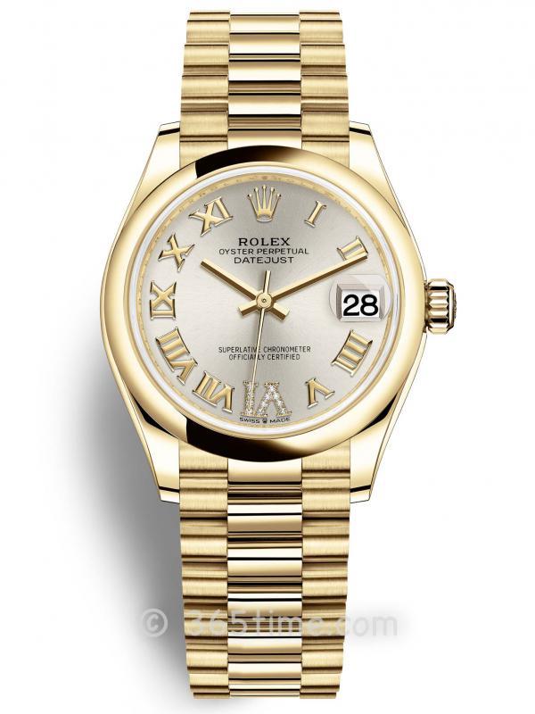 Rolex劳力士日志型31女表278248-0028