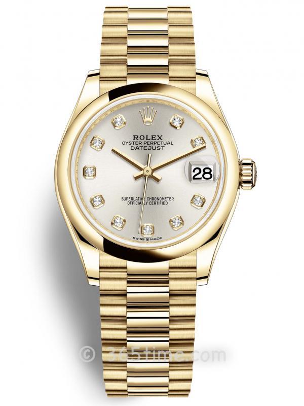 Rolex劳力士日志型31女表278248-0034