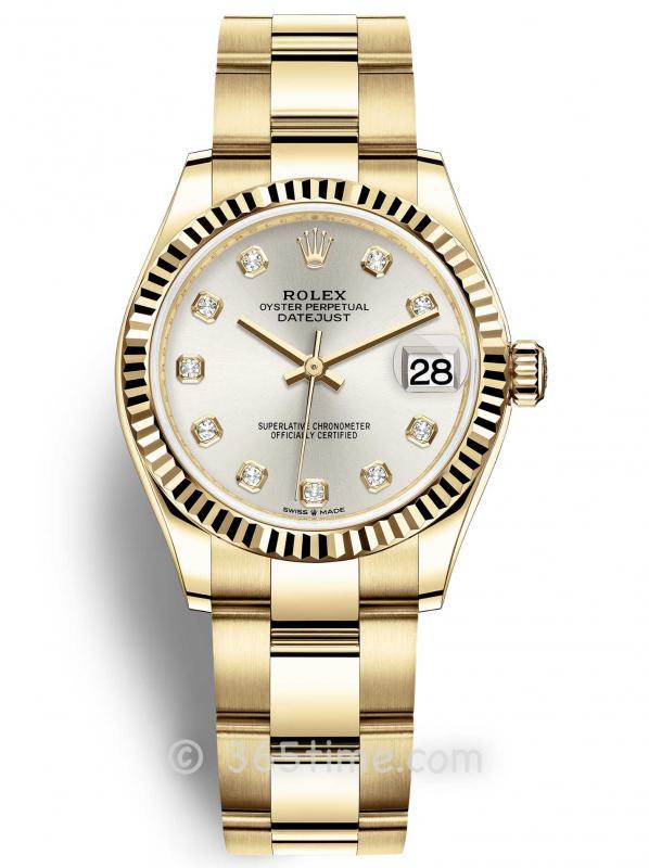 Rolex劳力士日志型31女表278278-0033