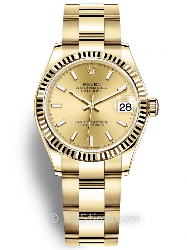 Rolex劳力士日志型31女表278278-0039