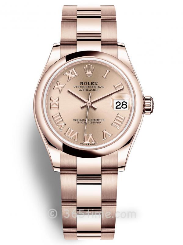 Rolex劳力士蚝式恒动日志型31女士手表278245-0033