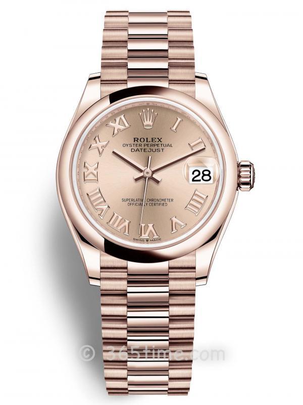 Rolex劳力士蚝式恒动日志型31女士手表278245-0034