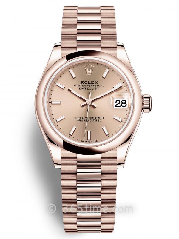 Rolex劳力士蚝式恒动日志型31女士手表278245-0036
