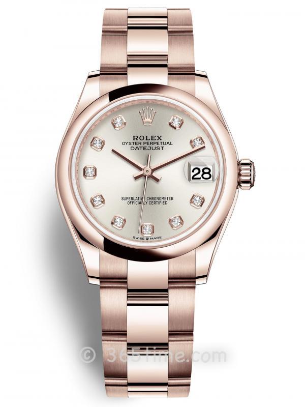 Rolex劳力士蚝式恒动日志型31女士手表278245-0037