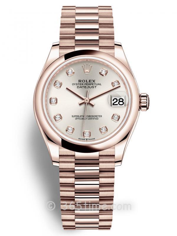 Rolex劳力士蚝式恒动日志型31女士手表278245-0038