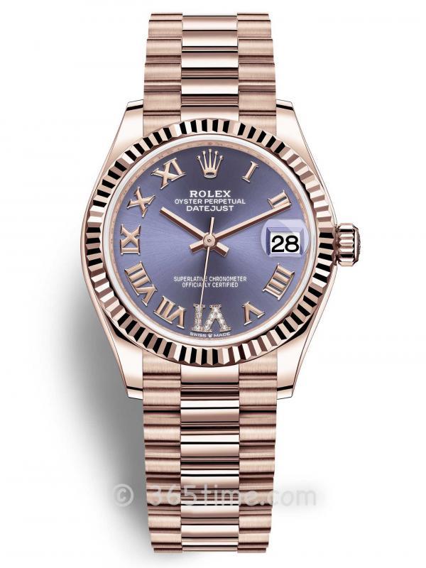 Rolex劳力士蚝式恒动日志型31女士手表278275-0029
