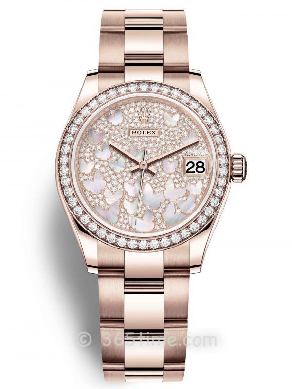 Rolex劳力士蚝式恒动日志型31女士手表278285rbr-0009