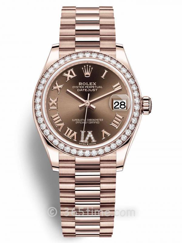 Rolex劳力士蚝式恒动日志型31女士手表278285rbr-0016