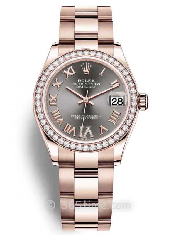 Rolex劳力士蚝式恒动日志型31女士手表278285rbr-0026