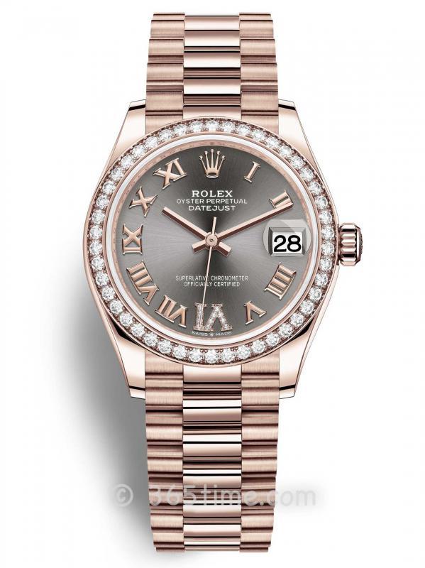 Rolex劳力士蚝式恒动日志型31女士手表278285rbr-0027