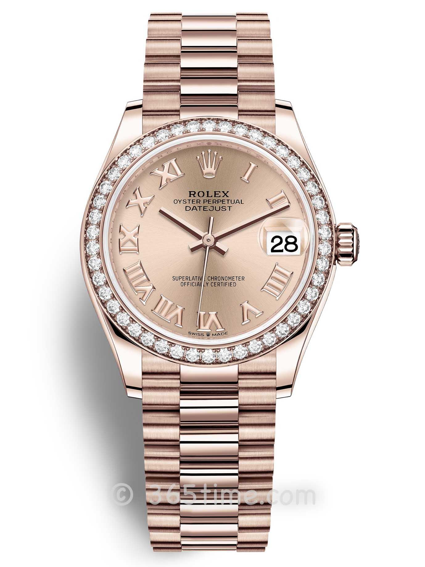 Rolex劳力士蚝式恒动日志型31女士手表278285rbr-0029