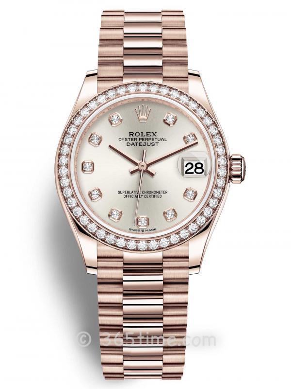 Rolex劳力士蚝式恒动日志型31女士手表278285rbr-0030