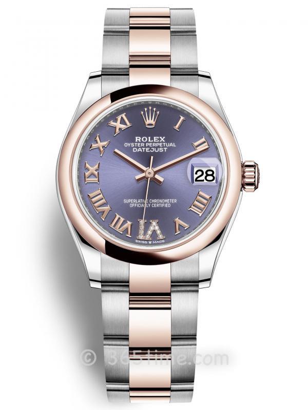 Rolex劳力士蚝式恒动日志型31女士手表278241-0019