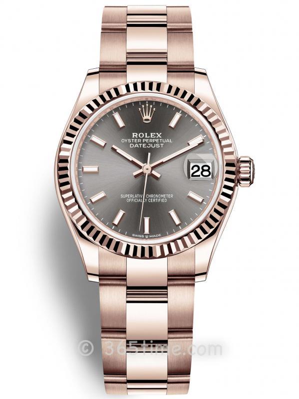 Rolex劳力士蚝式恒动日志型31女士手表278275-0026