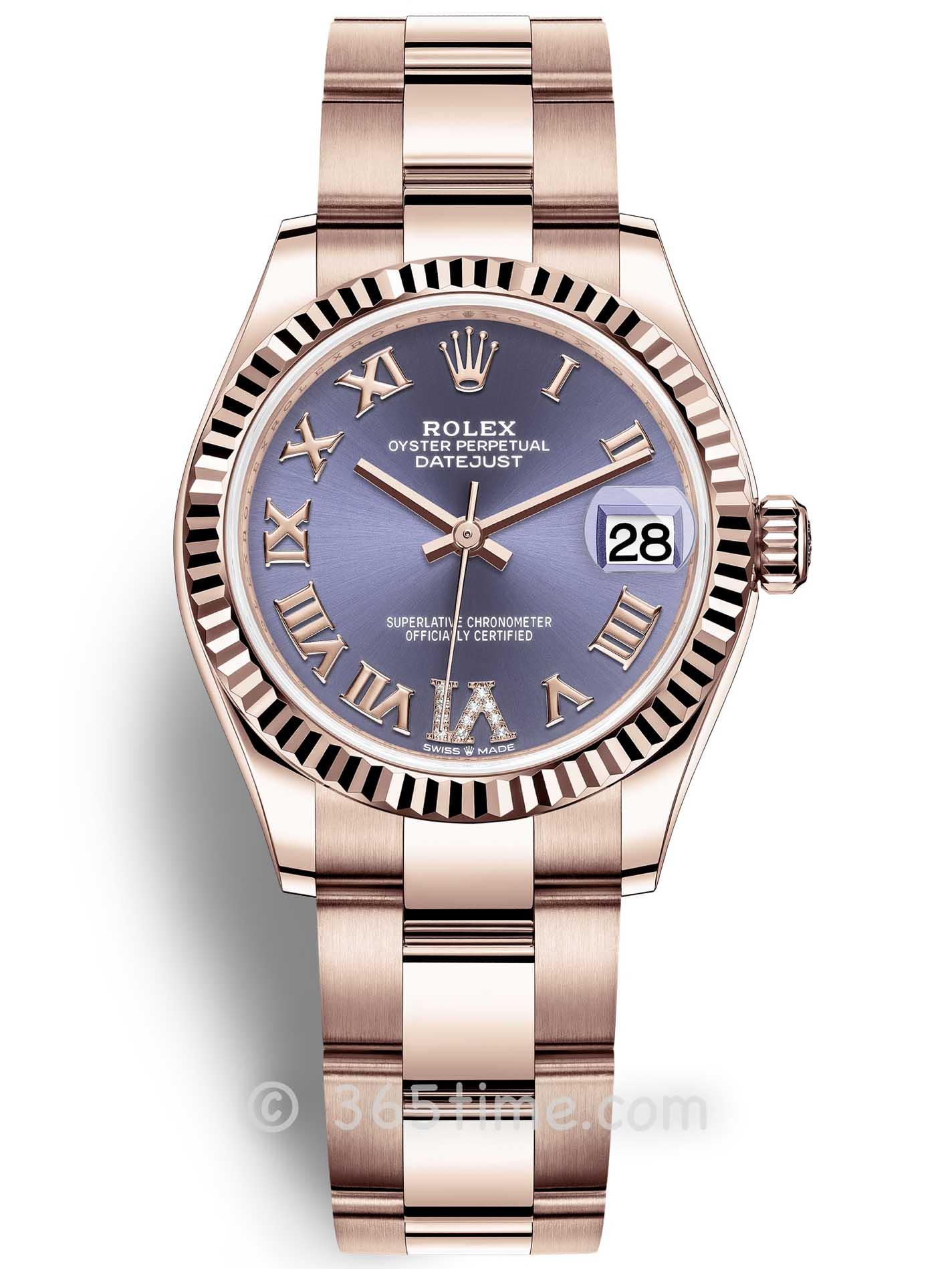 Rolex劳力士蚝式恒动日志型31女士手表278275-0028