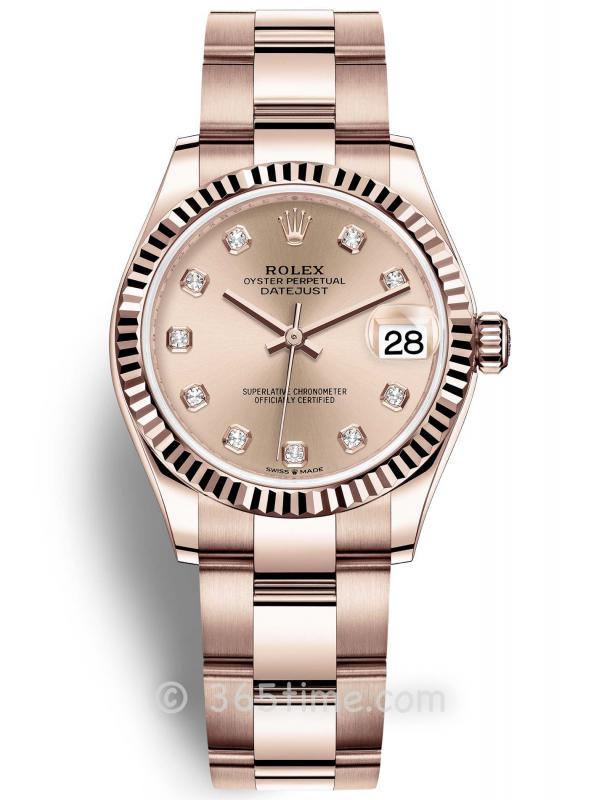 Rolex劳力士蚝式恒动日志型31女士手表278275-0030