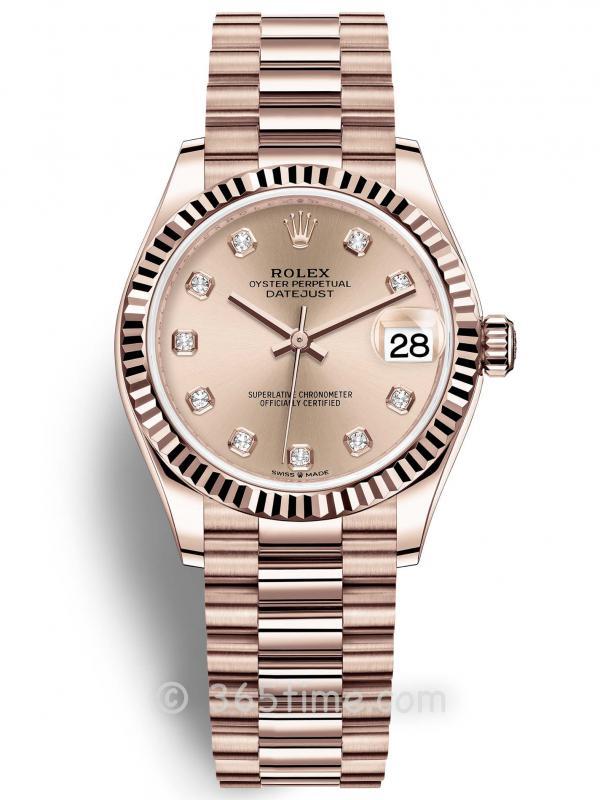 Rolex劳力士蚝式恒动日志型31女士手表278275-0031