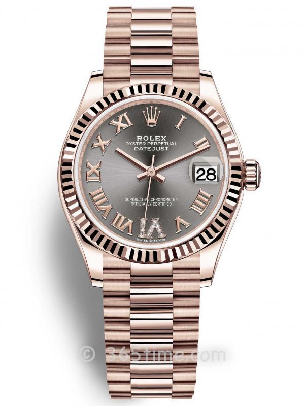 Rolex劳力士蚝式恒动日志型31女士手表278275-0033