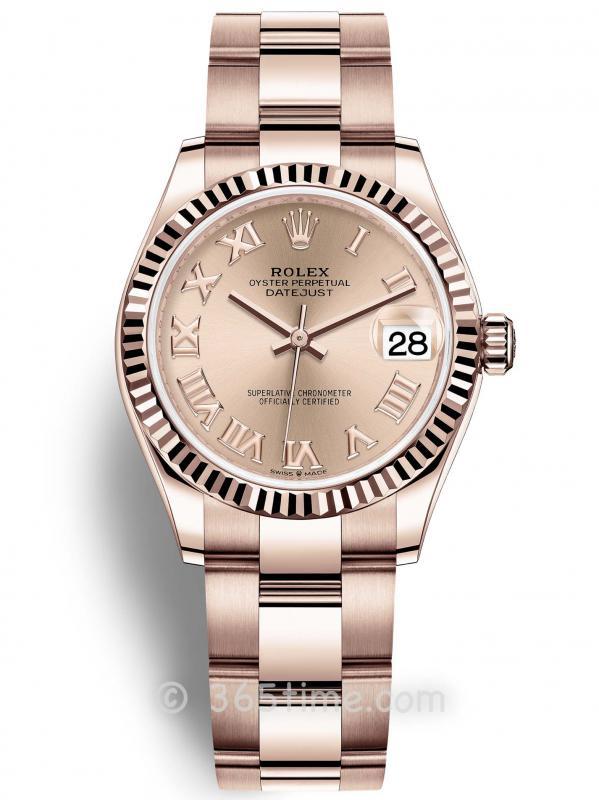 Rolex劳力士蚝式恒动日志型31女士手表278275-0034