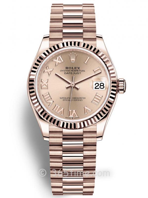 Rolex劳力士蚝式恒动日志型31女士手表278275-0035