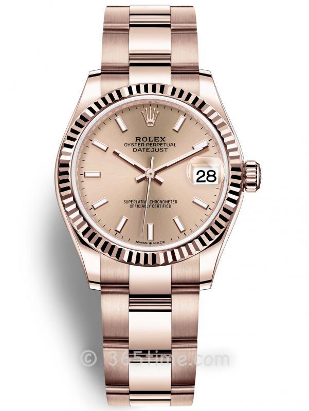 Rolex劳力士蚝式恒动日志型31女士手表278275-0036
