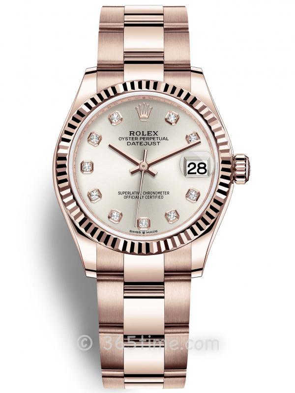 Rolex劳力士蚝式恒动日志型31女士手表278275-0038