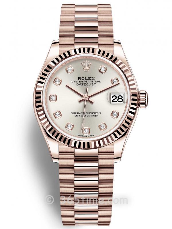 Rolex劳力士蚝式恒动日志型31女士手表278275-0039