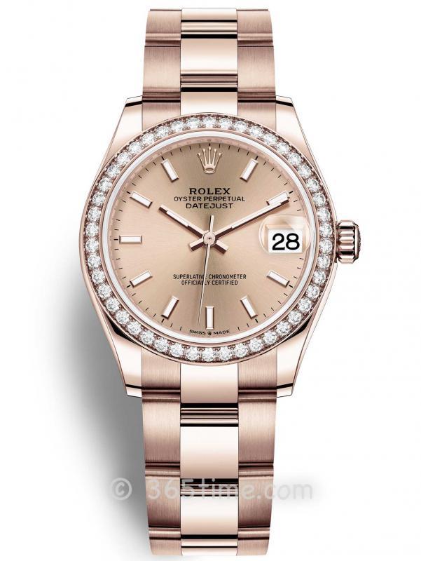 Rolex劳力士蚝式恒动日志型31女士手表278285rbr-0017
