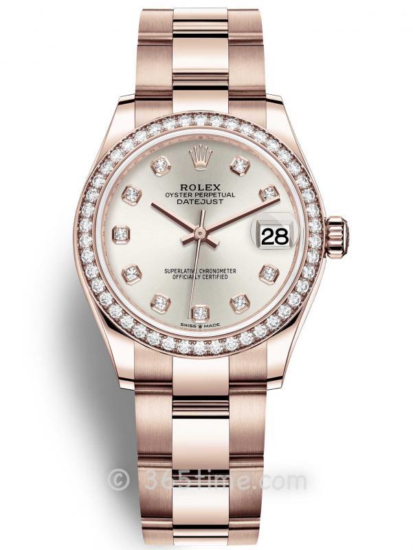 Rolex劳力士蚝式恒动日志型31女士手表278285rbr-0019