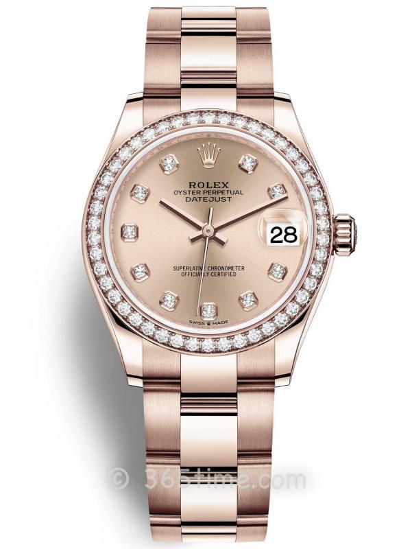 Rolex劳力士蚝式恒动日志型31女士手表278285rbr-0024