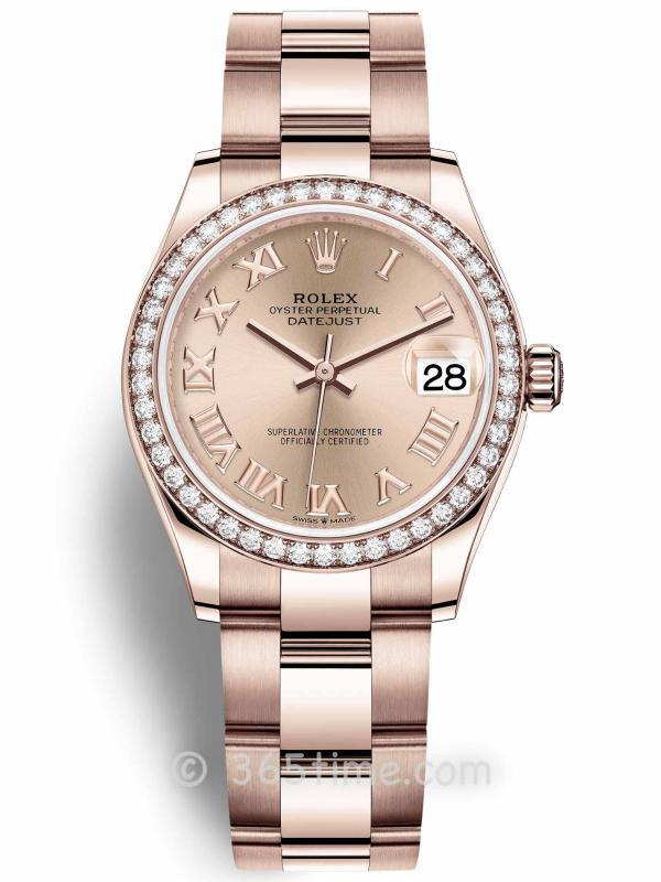 Rolex劳力士蚝式恒动日志型31女士手表278285rbr-0028