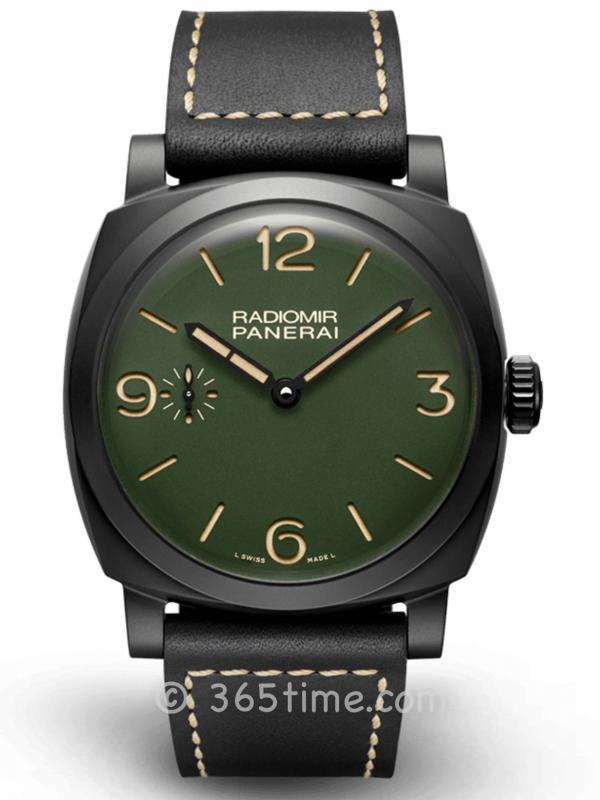 Panerai沛纳海Radiomir系列军绿色表盘腕表PAM00997