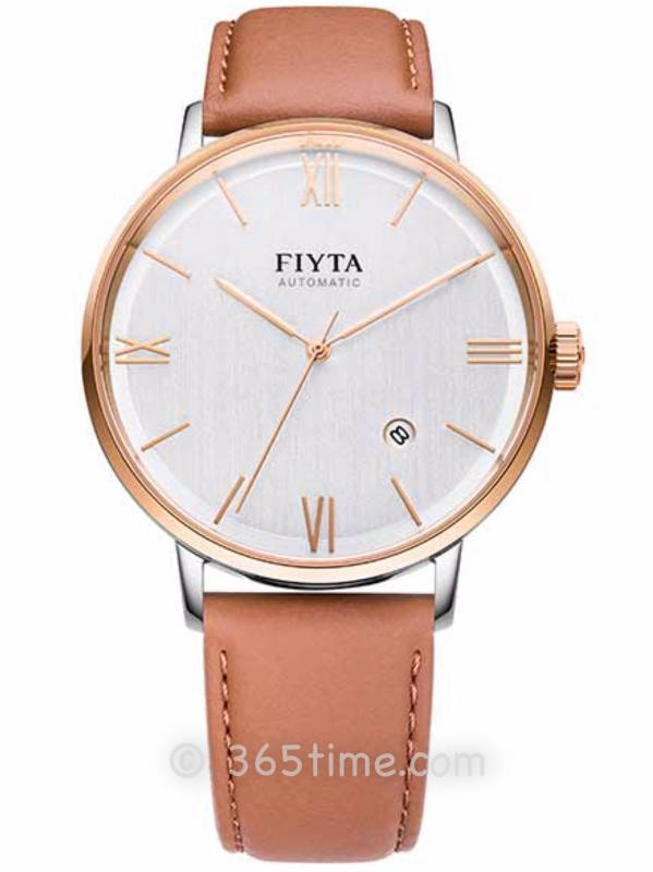 飞亚达(FIYTA)经典系列男士机械正装手表DGA802056.MWK
