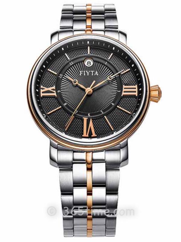 飞亚达(FIYTA)经典系列男士机械正装手表GA8636.MSM