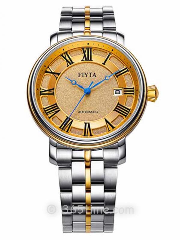 飞亚达(FIYTA)经典系列男士机械正装手表GA8640.TGT