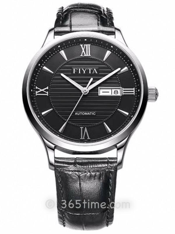 飞亚达(FIYTA)经典系列男士机械正装手表GA802015.WBB