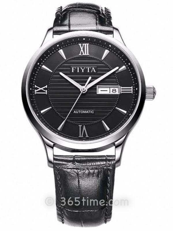 飞亚达(FIYTA)经典系列男士机械正装手表GA802016.TWT