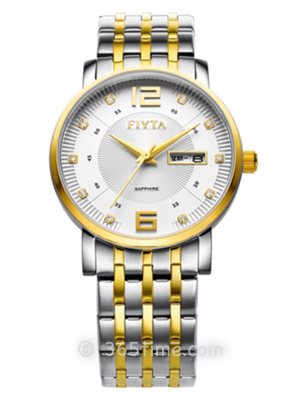飞亚达(FIYTA)经典系列女士石英手表JG000999.TWT