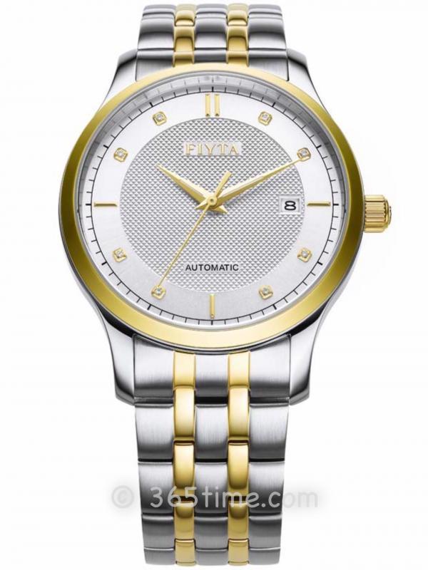 飞亚达(FIYTA)经典系列男士机械正装手表WGA800015.TWT