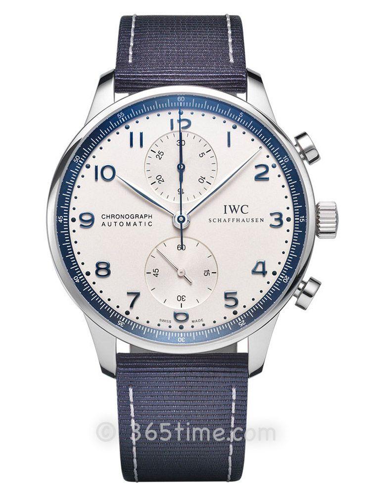 万国葡萄牙系列自动计时码表宝齐莱蓝限量腕表IW371492