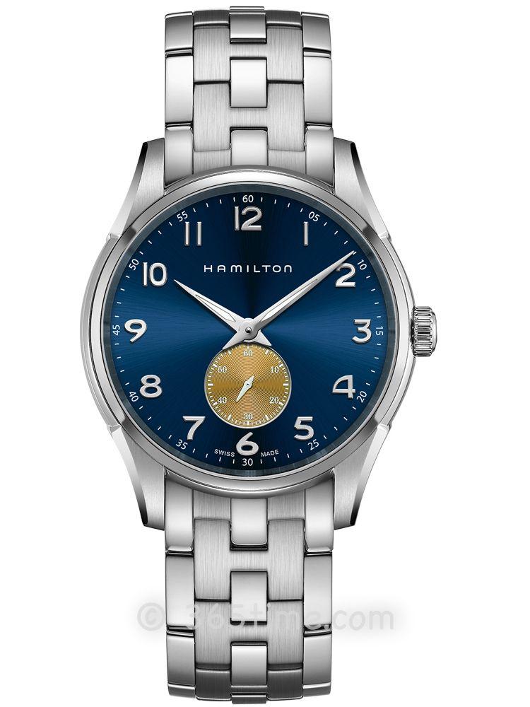 汉米尔顿爵士系列纤薄小秒针石英表H38411140
