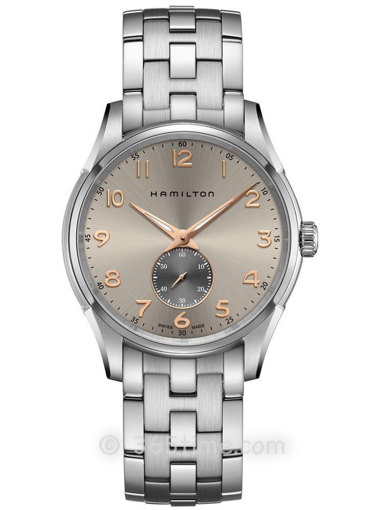 汉米尔顿爵士系列纤薄小秒针石英表H38411180