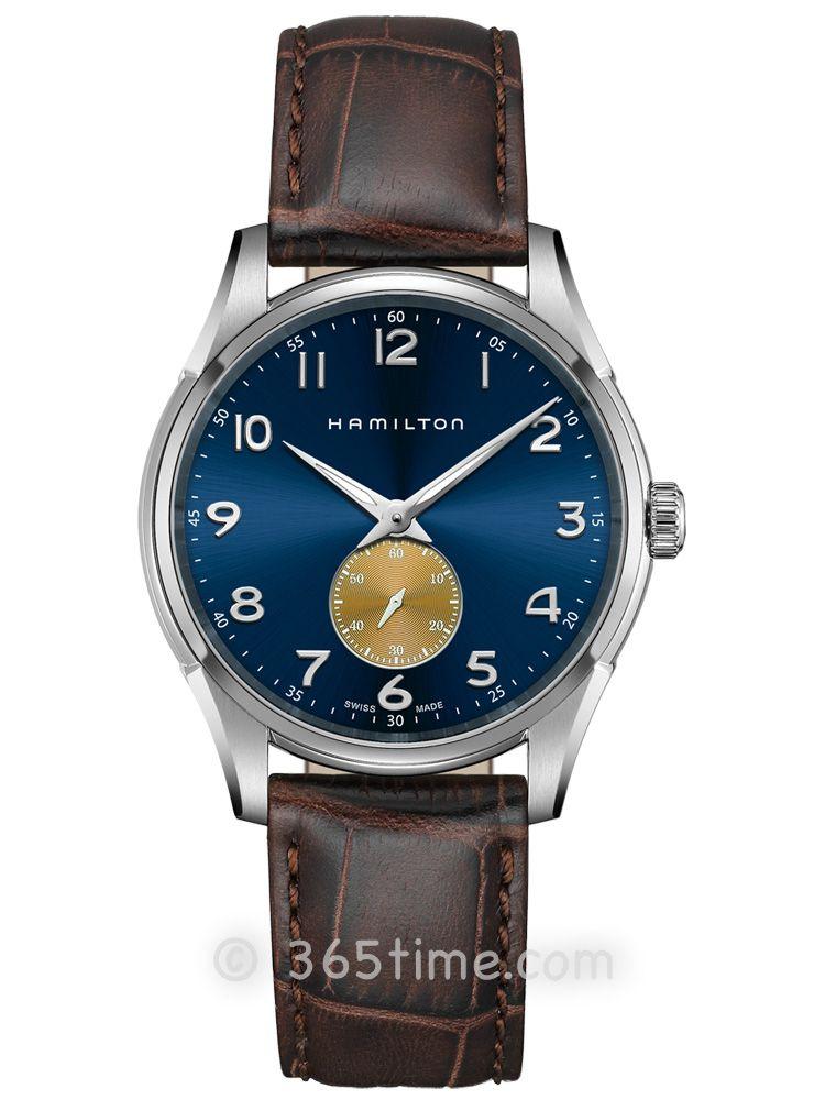 汉米尔顿爵士系列纤薄小秒针石英表H38411540