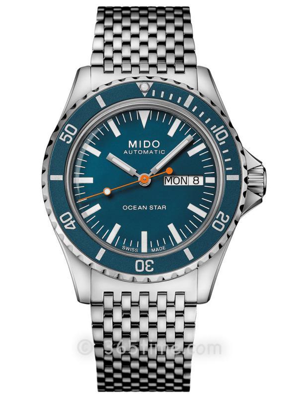 美度领航者OCEAN STAR TRIBUTE星期日历自动潜水表M026.830.11.041.00